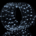 Zahradní světelný řetěz Garth- 50x LED dioda studená bílá