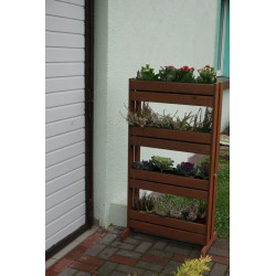 Zahradní houpačka RIMINI - červená + bílá