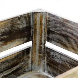 Polohovatelné lehátko z týkového dřeva Garth