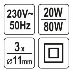 Markýza 3x2m - vzor 325