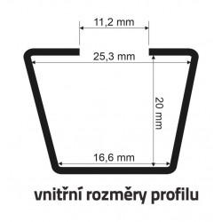 Květináč RATO LOW 17x17x17 cm, antracit