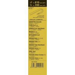 Svítící ventilky - jednobarevné - Žlutý ventilek