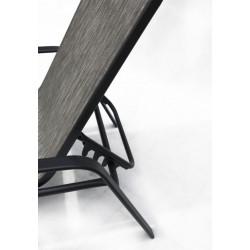 Bench Multifunkční lavice černá/stříbrná