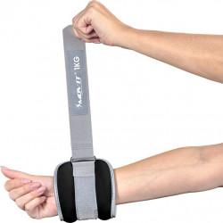 MOVIT neoprenová kondiční zátěž 2 kg, modrá