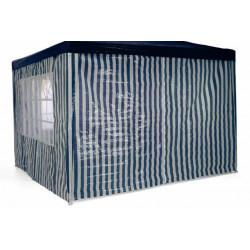Sada 2 bočních stěn pro zahradní stan 3 x 3 m - modrá