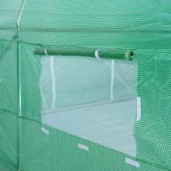 Slunečník 300 cm - béžový naklápěcí