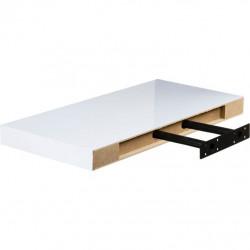 Gymnastická podložka Movit 183 x 60 x 1 cm - černá